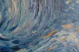 Starry Night Oil Painting Reproduction detail